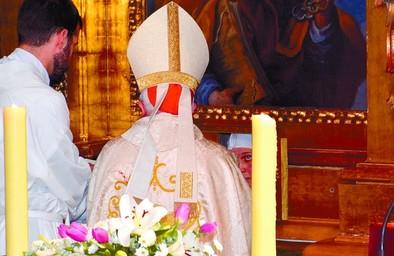 El convento de San José vivió una toma de hábito y una profesión carmelita