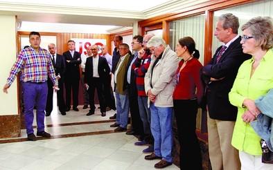 USO inaugura sede con el objetivo de aumentar su representatividad en Ávila