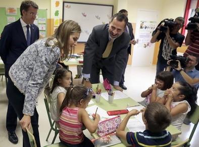 El Rey llama al esfuerzo para aumentar la calidad educativa