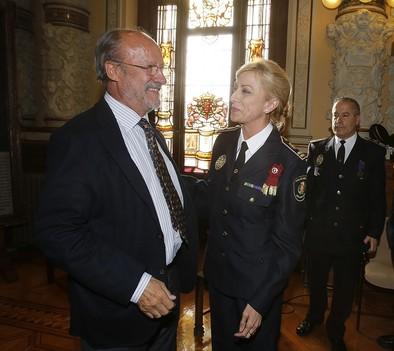 Julia González, primera mujer al frente de la Policía Local de España