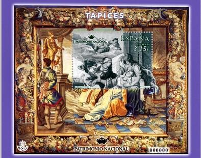 El tapíz de la Muerte de Dido agranda la serie anual de Patrimonio Nacional