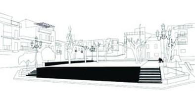 El Ayuntamiento de Fuenteálamo quiere recuperar como espacio público la Plaza de España