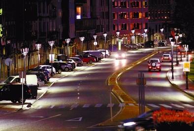 La nueva iluminación de Ávila, modelo para una treintena de ciudades