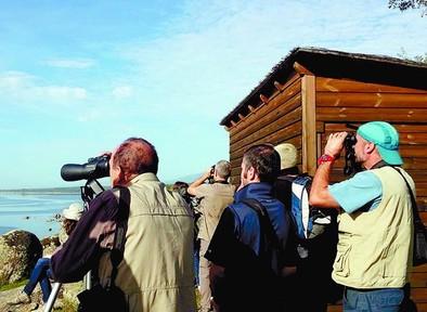El avistamiento de aves en El Rosarito cierra las I Jornadas Ornitológicas de Candeleda