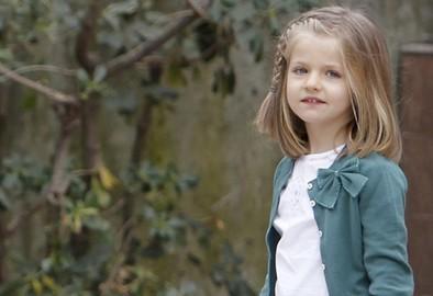 Los 9 años de Leonor
