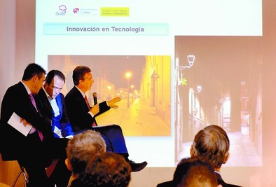Ávila expone en Barcelona su nuevo modelo de iluminación