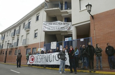Valladolid ha registrado más de 2.800 desahucios durante la crisis económica