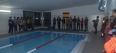 Respaldo social a la piscina cubierta, que funcionará con normalidad desde el lunes