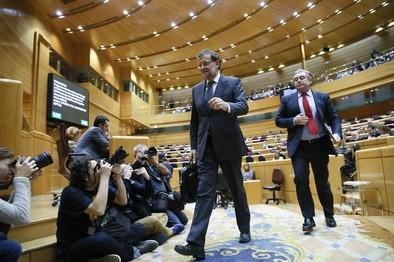 Rajoy defiende que nunca presionó a la Fiscalía para actuar contra Mas