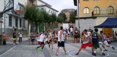 El Show Time de Baloncesto 3x3, broche del programa deportivo de Las Navas