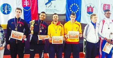 Oro para Álvaro Ibáñez en la Copa del Mundo Júnior