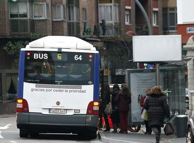 Auvasa mantendrá el precio del billete simple en 1,40 euros en 2015