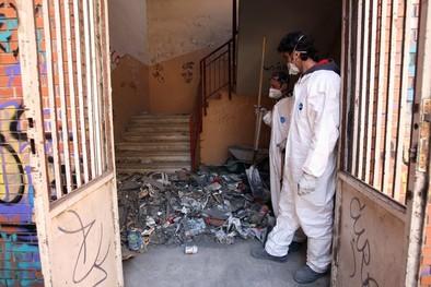 Los sindicatos rechazan la construcción de una oficina de la Seguridad Social en el colegio San Juan de la Cruz