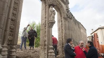 La fachada gótica de Santa Escolástica y su entorno se rehabilitarán