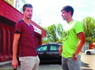 Gorka Kijera y Daniel Provencio refuerzan la plantilla del Mirandés