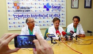 Ávila aplica de forma pionera una técnica sin cirugía para combatir tumores