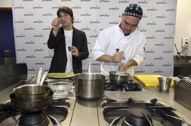 Huevos, gas natural y la magia de Jordi Cruz