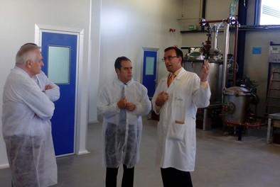 Gadea contrata a 25 personas y duplica su capacidad con su nueva planta de síntesis en Boecillo
