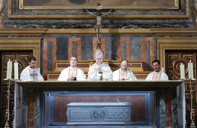 Aniversario de la beatificación del cardenal Sancha