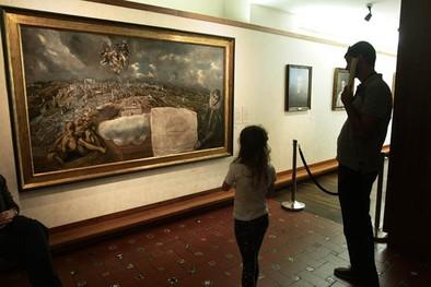 El Museo del Greco expone 'Vista y plano de Toledo' junto al Apostolado