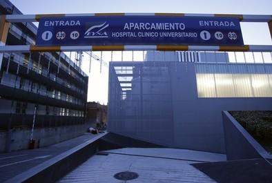 El aparcamiento del Clínico se abrirá el jueves y costará 1,5 euros cada hora