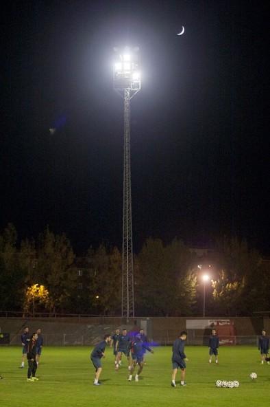 El Ayuntamiento estudia el cambio de iluminación en el Adolfo Suárez