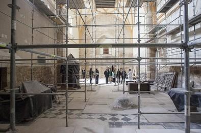 Diputación y Obispado mantienen su compromiso de conservar el patrimonio
