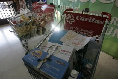 El CSIF y el Sescam organizan sendas recogidas solidarias de alimentos