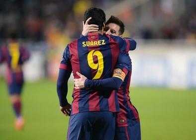 Messi calienta al Barça