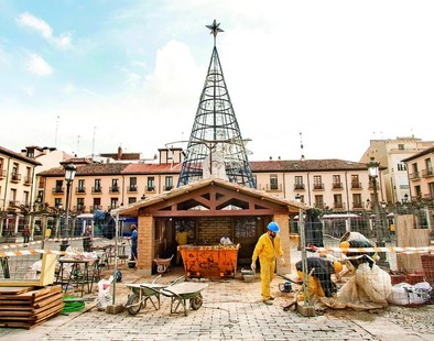 El Consistorio gastará 106.000 euros para hacer de Palencia una «referencia navideña»
