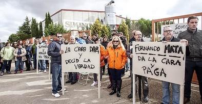 Los trabajadores de 'Simancas' mantienen la convocatoria de huelga desde el 1