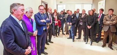 Inaugurado el tanatorio de Mombeltrán, decimoquinto en Ávila de Interfunerarias