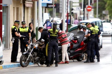 La distracción está detrás de la mayor parte de accidentes de ciclomotores