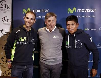Valverde y Quintana correrán juntos el Tour y la Vuelta