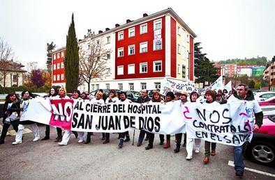 Herrera ve segundas intenciones en la amenaza de cierre de San Juan de Dios