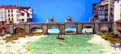 En camello por el puente