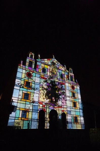 El Consistorio valora muy positivamente 'Teresa  ilumina Ávila'