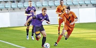 El CD Palencia comienza una nueva temporada con su estreno en Tercera
