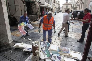 Identificados los causantes de los destrozos en diez de las veinte 'Pes'