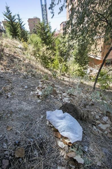 Los vecinos del barrio Pozo de las Nieves se quejan por la falta de limpieza