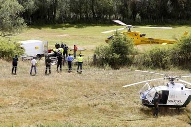 Tres guardias civiles mueren en un rescate al estrellarse su helicóptero