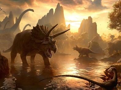 Un dinosaurio con dni español
