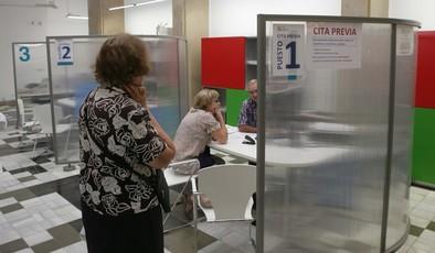 La Diputación estudia mejorar las instalaciones de la Oficina Tributaria