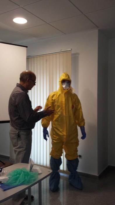 Un plan de protección frente al Ébola