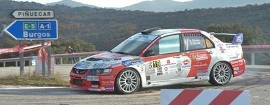 El embrague privó a Alberto San Segundo de luchar por la quinta plaza en el Rally Comunidad de Madrid Race