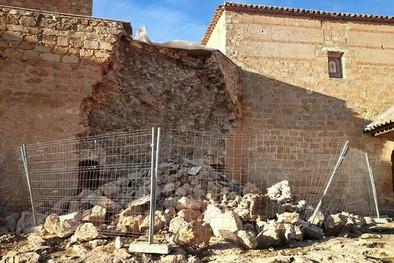 La Junta evaluará las causas del derrumbe de la muralla