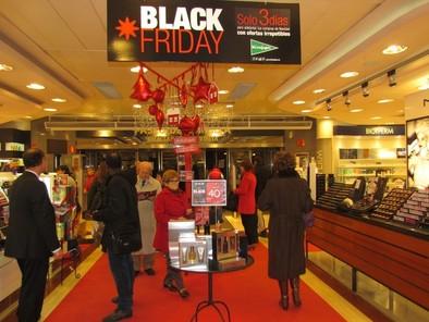 Valladolid se entrega al 'Black Friday'