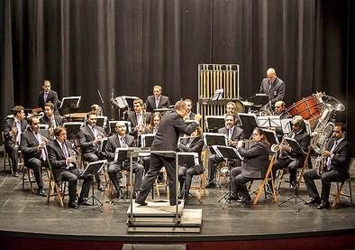 La Banda Municipal festeja a su patrona con un concierto extraordinario
