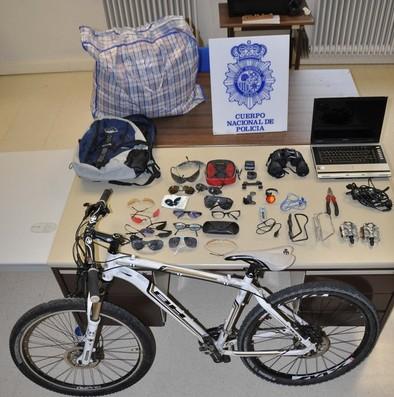 Cuatro detenidos como presuntos autores de los robos en trasteros