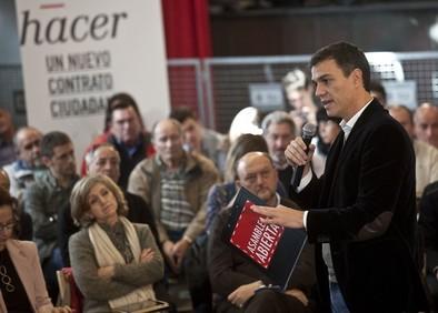 Sánchez marca su hoja de ruta con la corrupción en el punto de mira